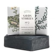 Charcoal Soap | Jabón Sólido Carbón Vegetal Savon Stories