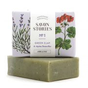 Green Clay Soap | Jabón Sólido Arcilla Verde Savon Stories