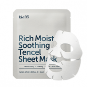Rich Moist Soothing Tencel Sheet Mask | Máscara Calmante e Hidratante Klairs