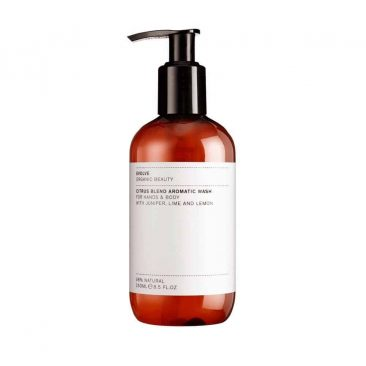 evolve citrus blend aromatic wash 250